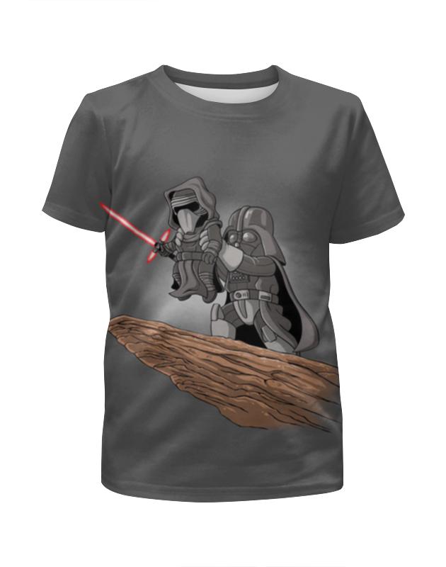 Футболка с полной запечаткой для девочек Printio Star wars футболка с полной запечаткой для девочек printio пртигр arsb