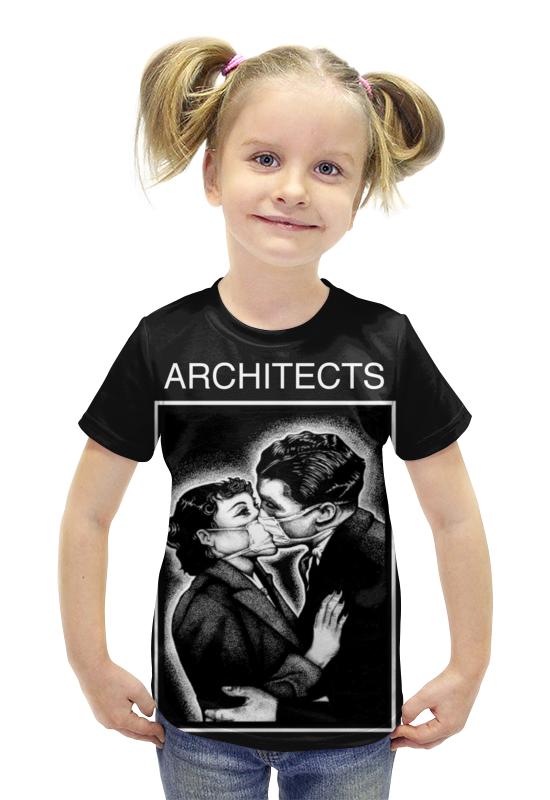 Футболка с полной запечаткой для девочек Printio Architects футболка с полной запечаткой для девочек printio пртигр arsb