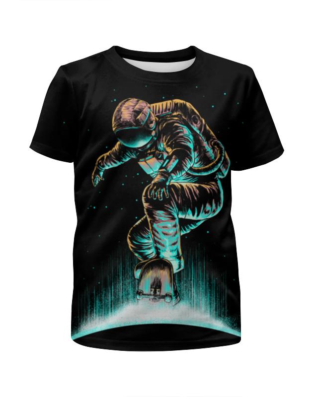 Футболка с полной запечаткой для девочек Printio Космический экстрим футболка макс экстрим футболка