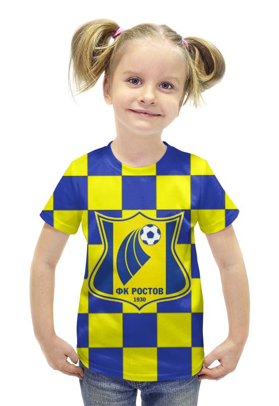 Футболка с полной запечаткой для девочек Printio Ростов пфк