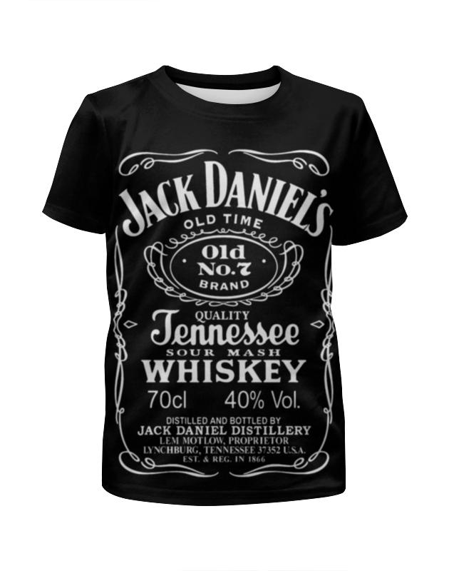 Футболка с полной запечаткой для девочек Printio Jack daniels футболка jack daniels мужская