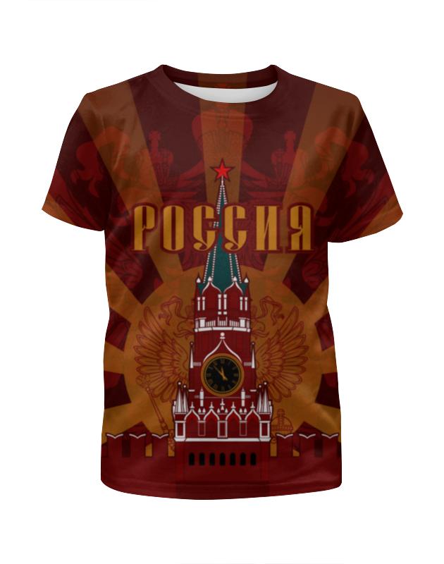 Футболка с полной запечаткой для девочек Printio Кремль выставной в кремль 2222 ярославское шоссе