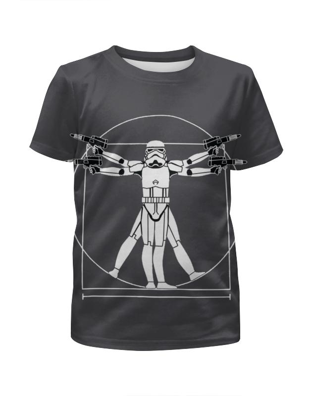 Футболка с полной запечаткой для девочек Printio Star wars футболка с полной запечаткой для девочек printio spawn