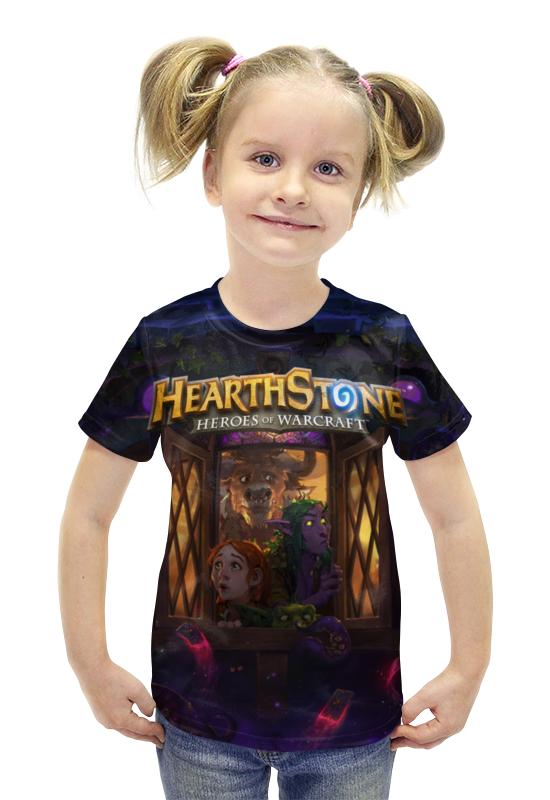 Футболка с полной запечаткой для девочек Printio Hearthstone футболка с полной запечаткой для девочек printio spawn