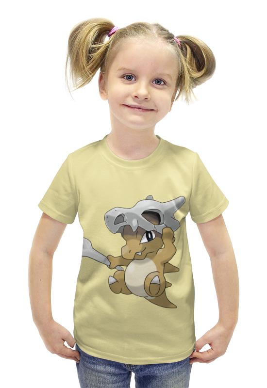 Футболка с полной запечаткой для девочек Printio Кубон футболка с полной запечаткой для девочек printio пртигр arsb