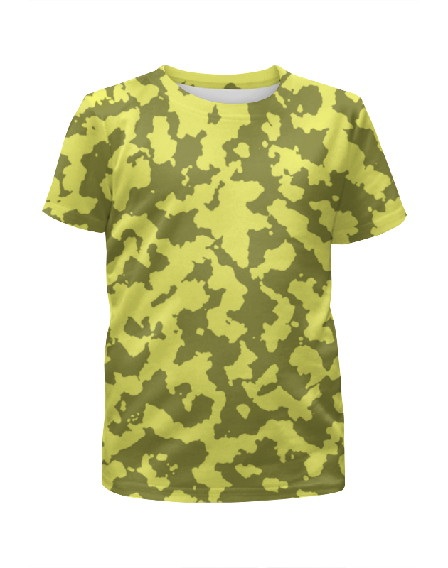 Футболка с полной запечаткой для девочек Printio Мультицвет камуфляж футболка с полной запечаткой для девочек printio spawn