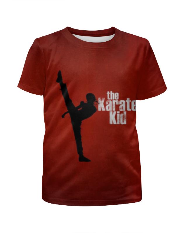 Футболка с полной запечаткой для девочек Printio Каратэ пацан футболка с полной запечаткой для девочек printio свой парень