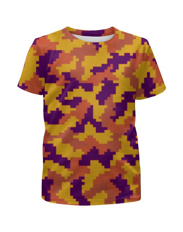 Футболка с полной запечаткой для девочек Printio Камуфляж нано футболка с полной запечаткой для девочек printio камуфляж