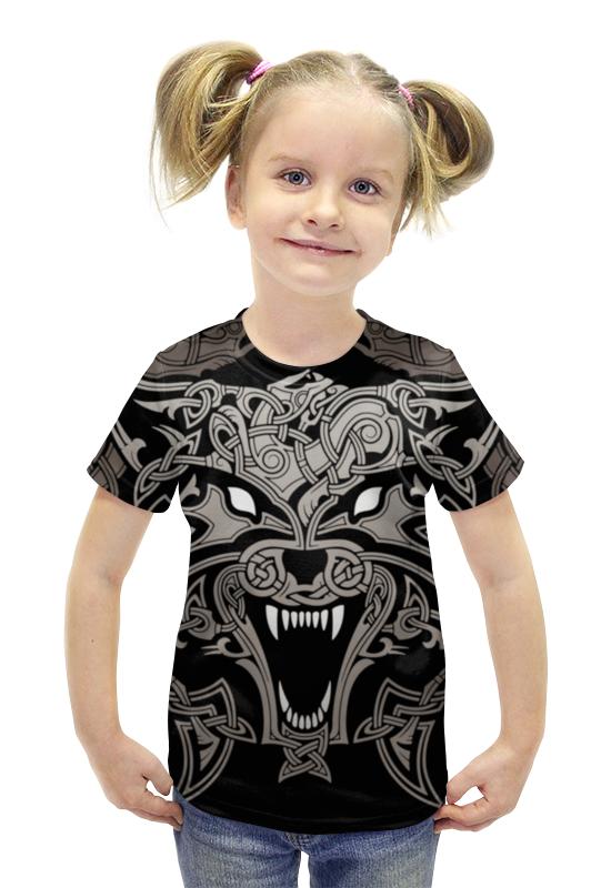Футболка с полной запечаткой для девочек Printio Рагнарок футболка с полной запечаткой для девочек printio пртигр arsb