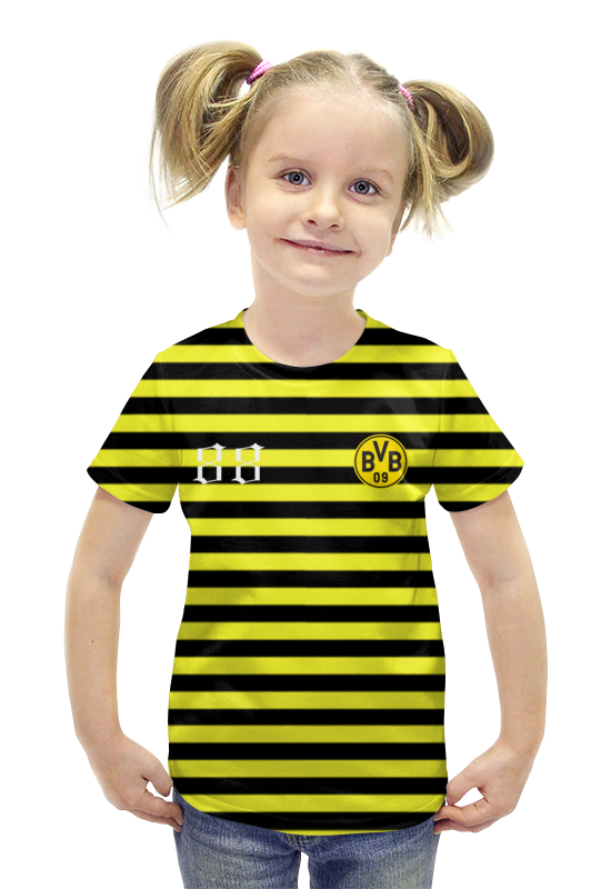Футболка с полной запечаткой для девочек Printio Bvb09 футболка с полной запечаткой для девочек printio пртигр arsb