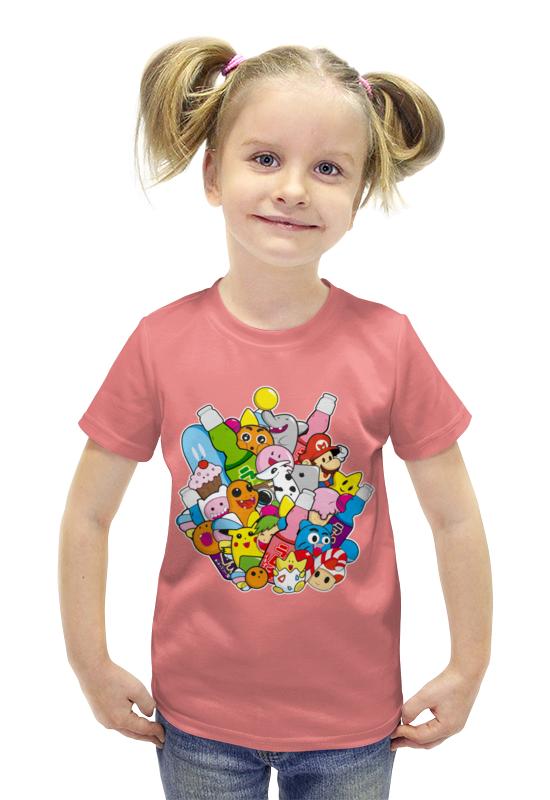 Футболка с полной запечаткой для девочек Printio Мультики футболка с полной запечаткой для девочек printio spawn