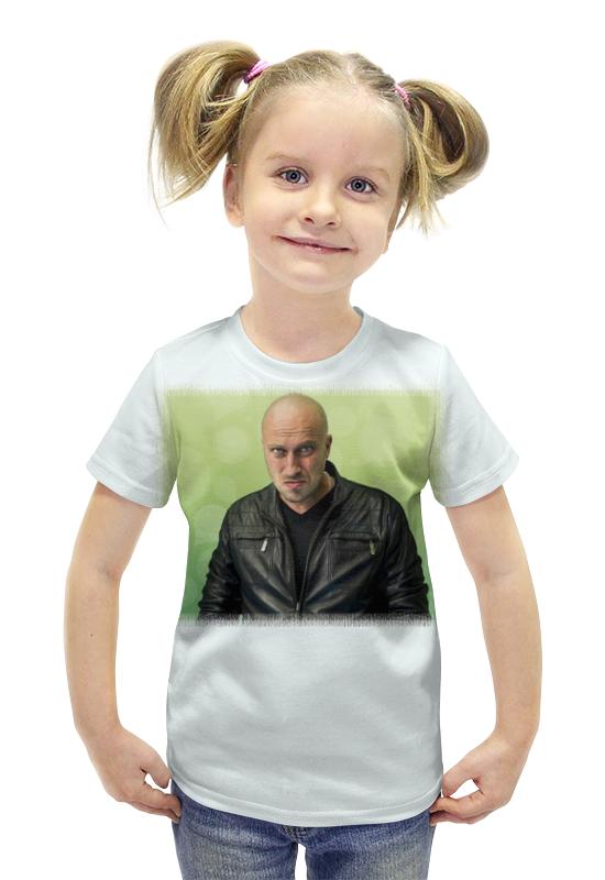 Футболка с полной запечаткой для девочек Printio Физрук футболка с полной запечаткой для девочек printio пртигр arsb