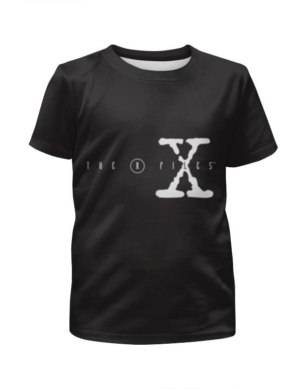 Футболка с полной запечаткой для девочек Printio Секретные материалы (x-files) футболка с полной запечаткой мужская printio секретные материалы x files