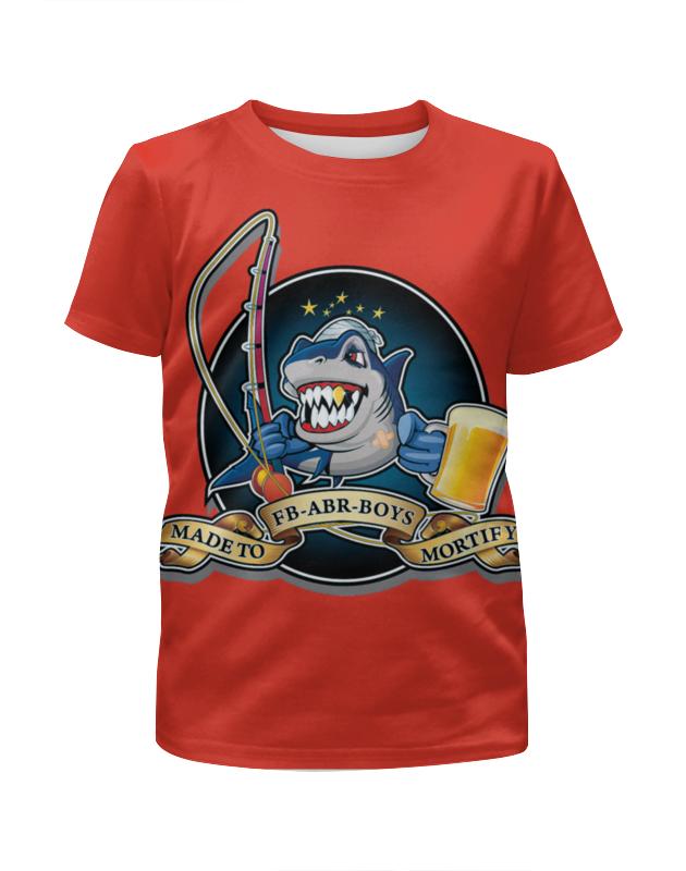 Printio Время рыбалки футболка с полной запечаткой для мальчиков printio время рыбалки