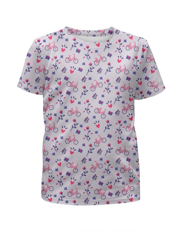 Футболка с полной запечаткой для девочек Printio Весеннее настроение футболка с полной запечаткой для девочек printio весеннее настроение