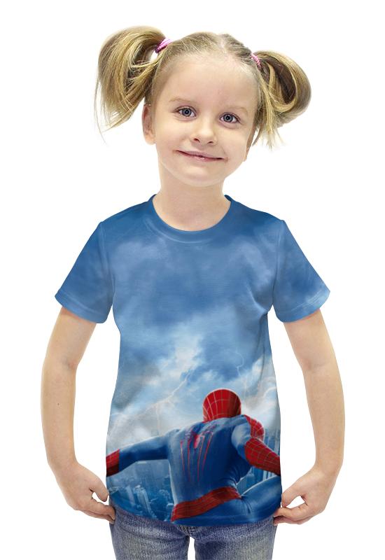 Футболка с полной запечаткой для девочек Printio Spider-man футболка с полной запечаткой для девочек printio spawn