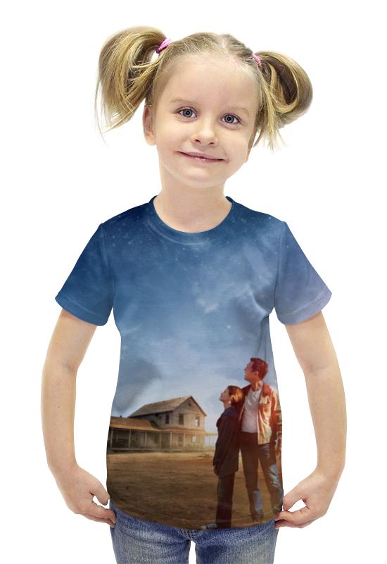 Футболка с полной запечаткой для девочек Printio Интерстеллар футболка с полной запечаткой для девочек printio spawn