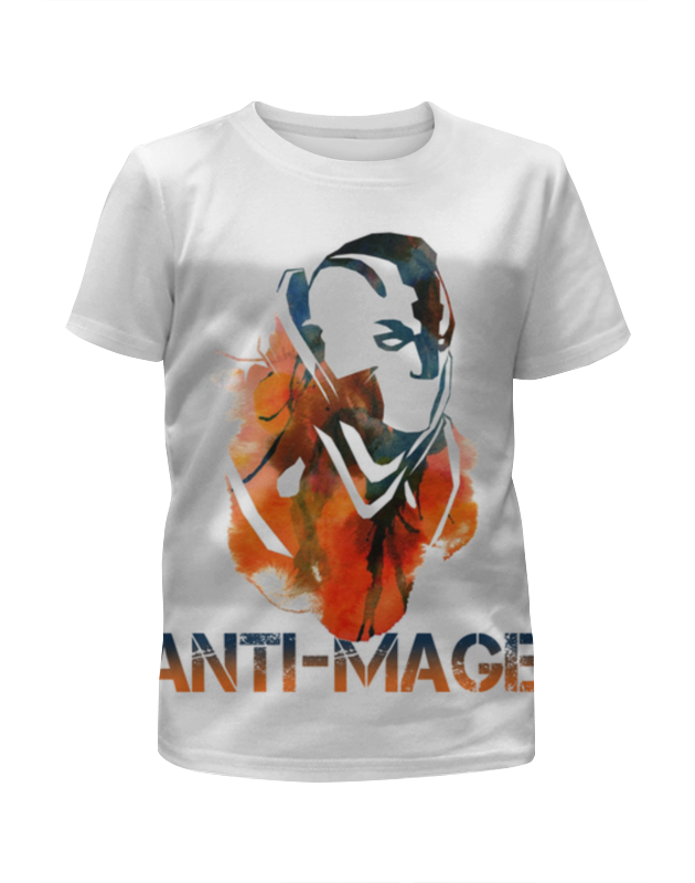Футболка с полной запечаткой для девочек Printio Anti-mage dota 2 футболка с полной запечаткой для девочек printio dota 2 lina on fire