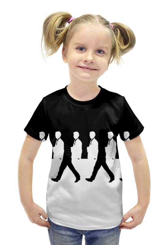 Футболка с полной запечаткой для девочек Printio Иллюзион футболка с полной запечаткой для девочек printio иллюзия