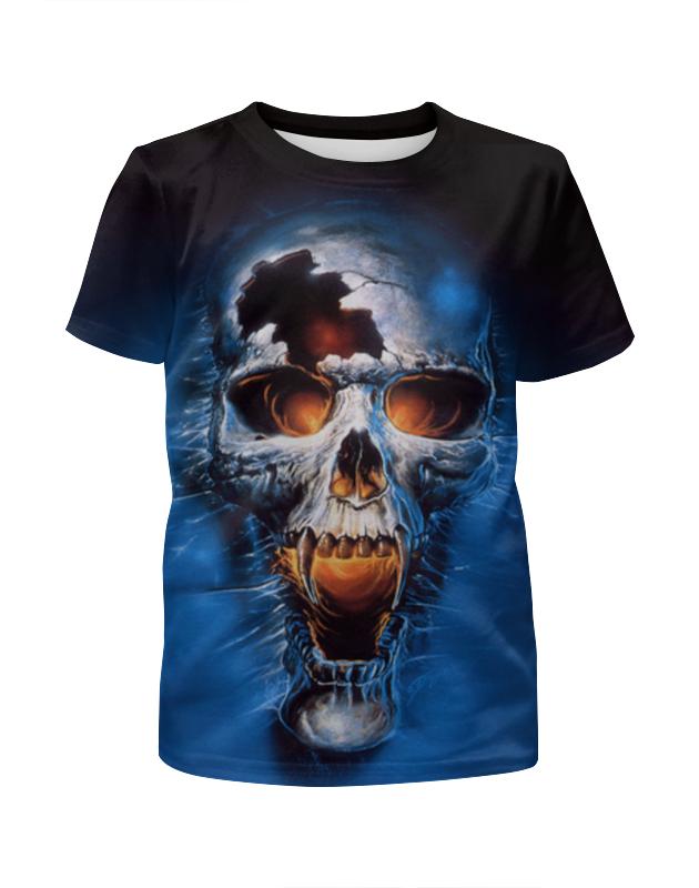 Printio Death (смерть) футболка с полной запечаткой для девочек printio death trooper