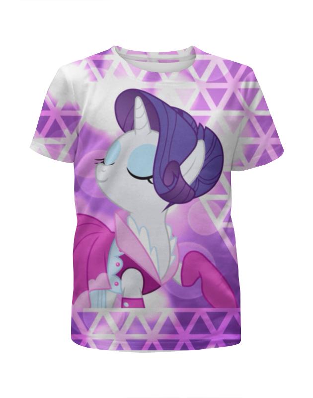 Футболка с полной запечаткой для девочек Printio Little pony комплект одежды для девочек little miss 2015 2 tz150311034