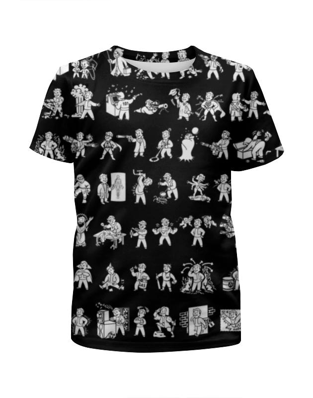 Футболка с полной запечаткой для девочек Printio Fallout футболка с полной запечаткой для девочек printio fallout