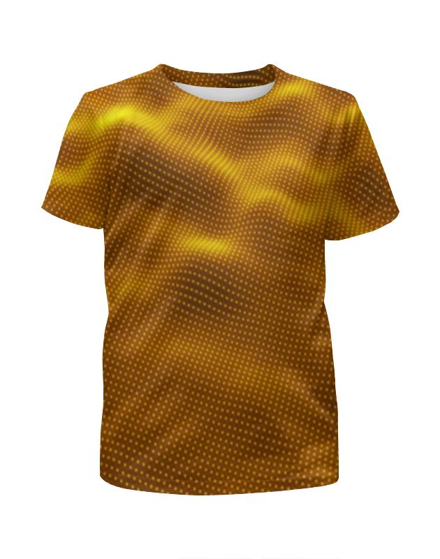 Футболка с полной запечаткой для девочек Printio Dynamic waves футболка с полной запечаткой для девочек printio пртигр arsb