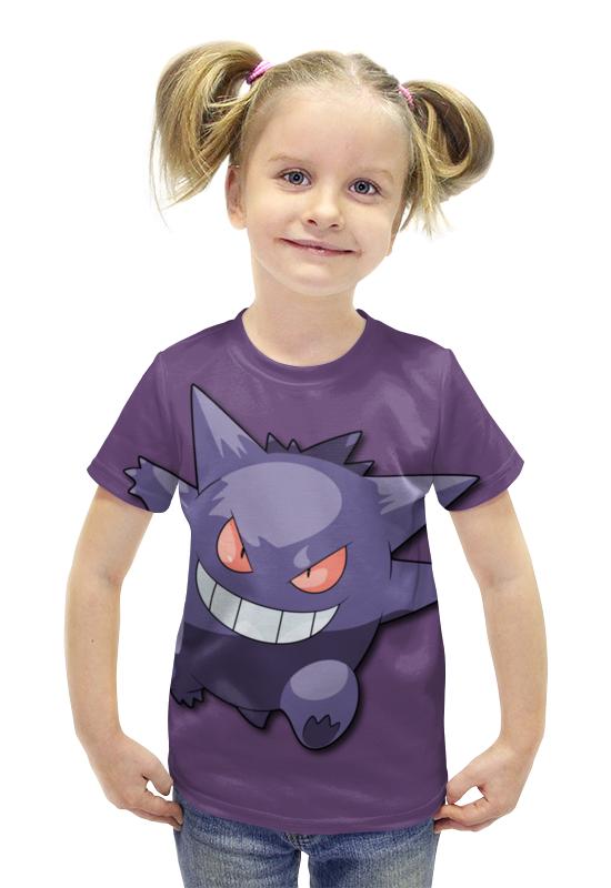 Футболка с полной запечаткой для девочек Printio Генгар футболка с полной запечаткой для девочек printio spawn