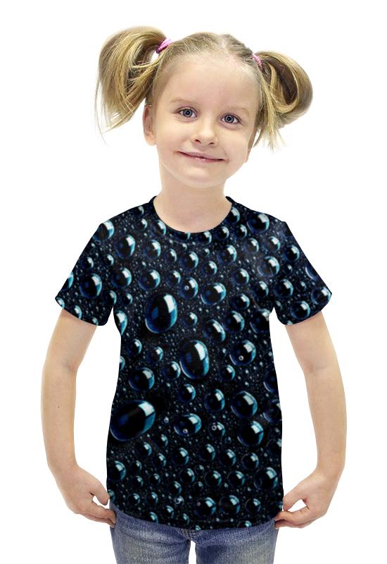 Футболка с полной запечаткой для девочек Printio Капля футболка с полной запечаткой для девочек printio spawn