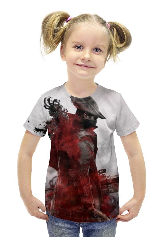 Футболка с полной запечаткой для девочек Printio Bloodborne футболка с полной запечаткой для девочек printio spawn