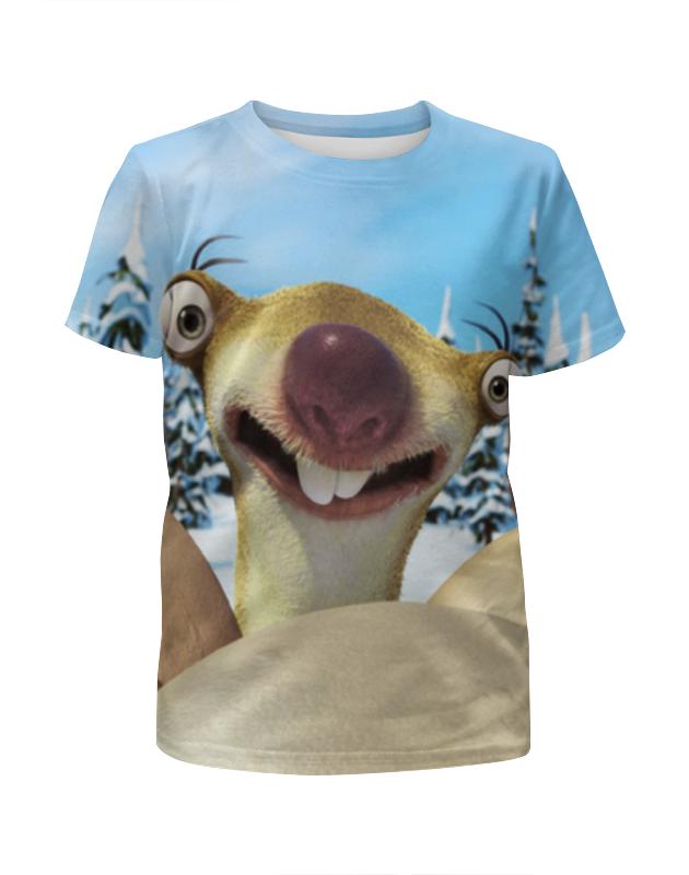Футболка с полной запечаткой для девочек Printio Сид / sid футболка print bar сид барретт