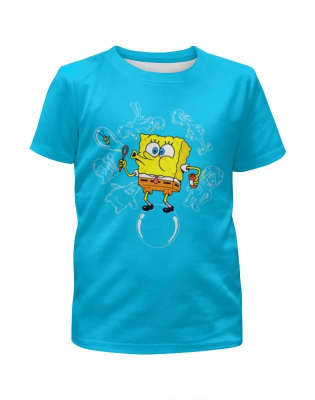 Футболка с полной запечаткой для девочек Printio Мыльные пузыри футболка с полной запечаткой для девочек printio spawn