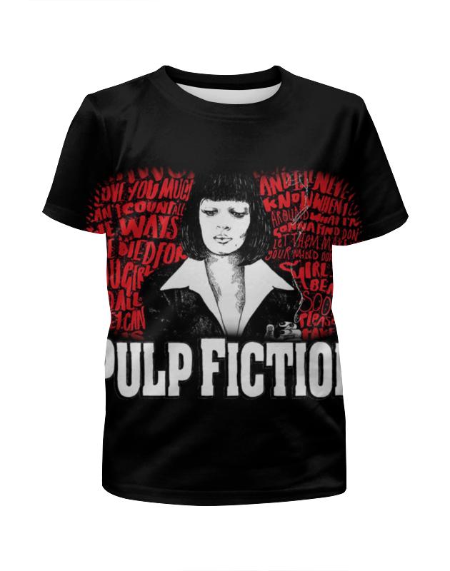 Футболка с полной запечаткой для девочек Printio Pulp fiction футболка с полной запечаткой для девочек printio пртигр arsb
