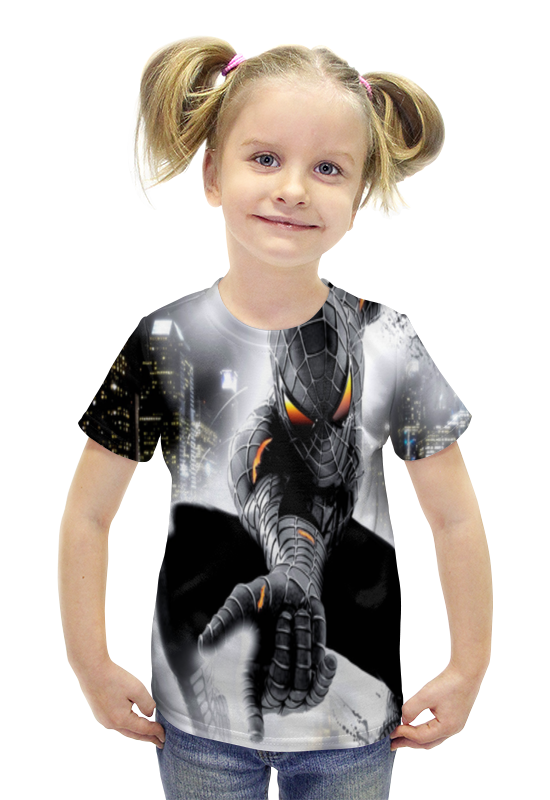 Футболка с полной запечаткой для девочек Printio Супермен футболка с полной запечаткой для девочек printio пртигр arsb