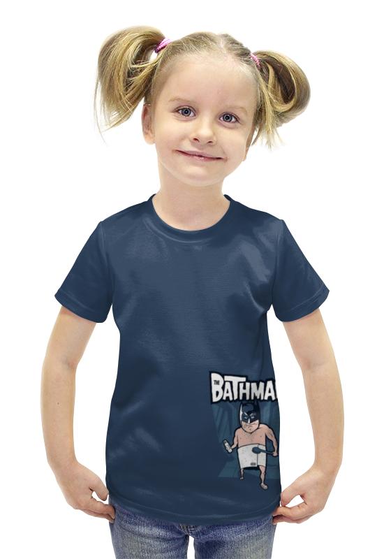 Футболка с полной запечаткой для девочек Printio Bathman футболка с полной запечаткой для девочек printio пртигр arsb