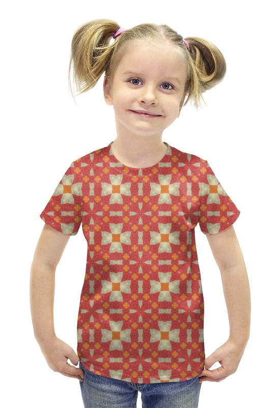 Футболка с полной запечаткой для девочек Printio Omrewq4300 футболка с полной запечаткой для девочек printio рианна