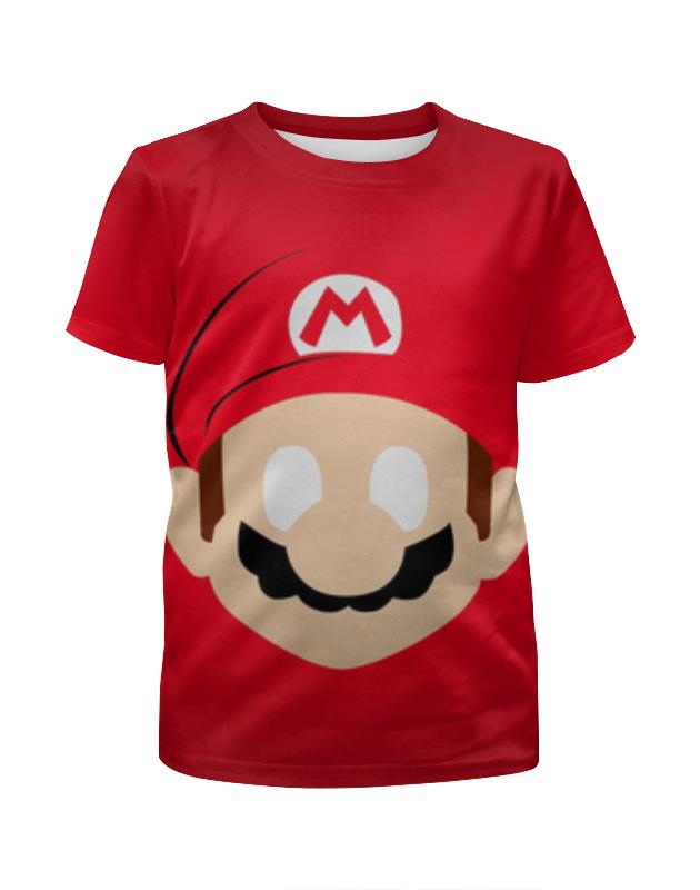 Футболка с полной запечаткой для девочек Printio Супер марио футболка с полной запечаткой для девочек printio пртигр arsb