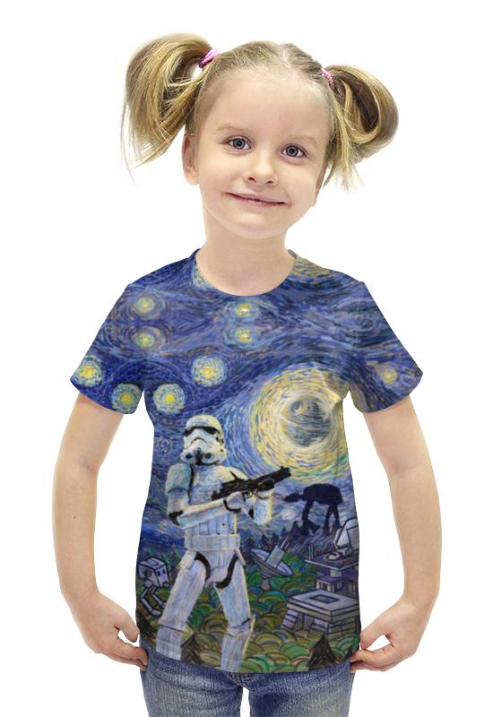 Футболка с полной запечаткой для девочек Printio Штурмовик футболка с полной запечаткой для девочек printio пртигр arsb