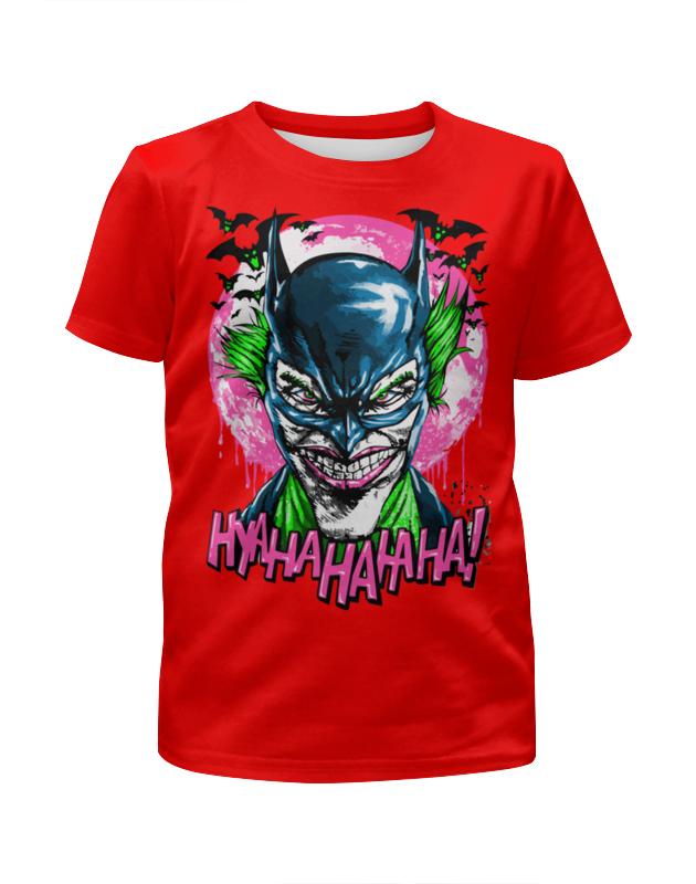 Футболка с полной запечаткой для девочек Printio Джокер - бэтмен футболка с полной запечаткой для девочек printio бэтмен batman