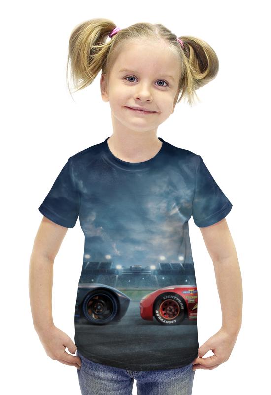 Футболка с полной запечаткой для девочек Printio Тачки футболка с полной запечаткой для девочек printio spawn