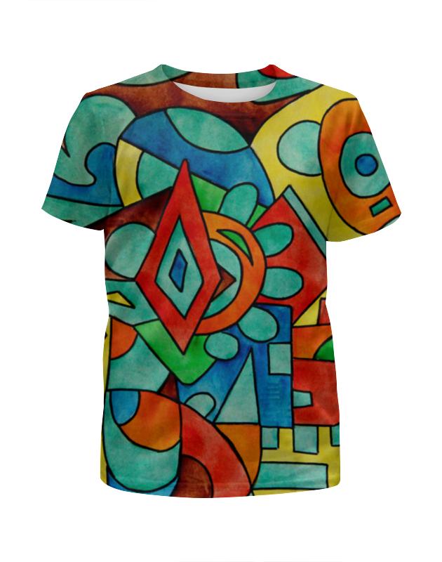 Футболка с полной запечаткой для девочек Printio Z//;vcw`0m0 футболка с полной запечаткой printio война миров z