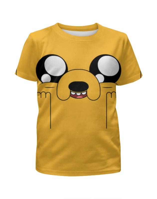 Футболка с полной запечаткой для девочек Printio Время приключений / adventure time футболка wearcraft premium printio время приключений adventure time