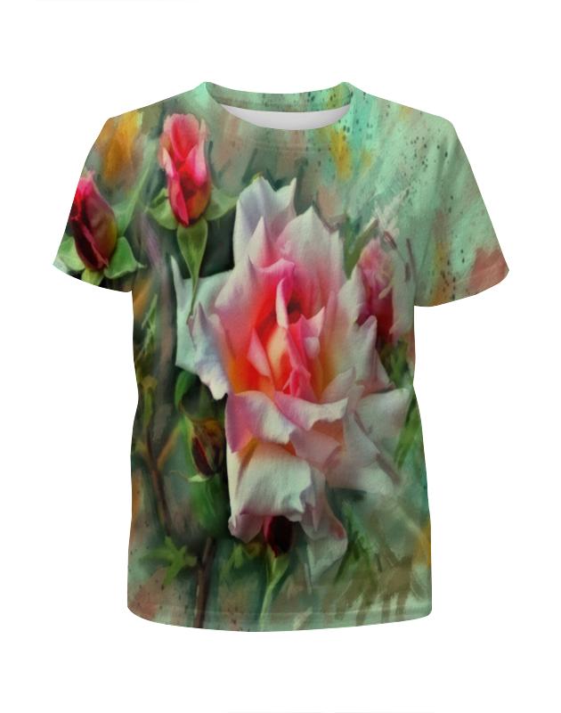 лучшая цена Printio Цветущие розы