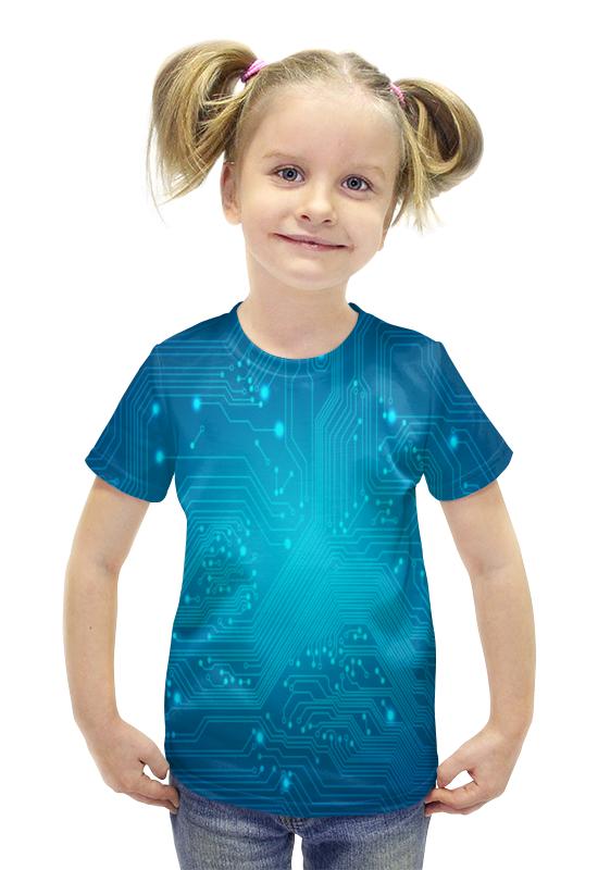 Футболка с полной запечаткой для девочек Printio Технология футболка с полной запечаткой для девочек printio пртигр arsb