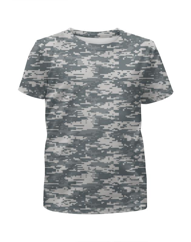 Футболка с полной запечаткой для девочек Printio Digital urban style футболка с полной запечаткой для девочек printio camouflage style