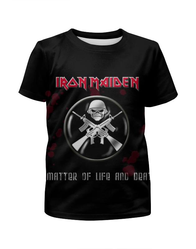 Футболка с полной запечаткой для девочек Printio Iron maiden band футболка с полной запечаткой мужская printio iron maiden