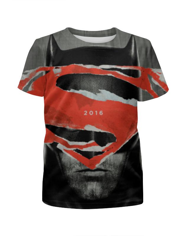 Футболка с полной запечаткой для девочек Printio Batman футболка с полной запечаткой для девочек printio batman x joker бэтмен