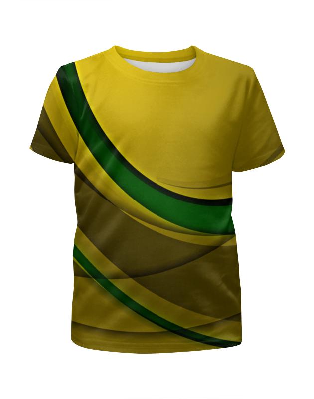 Футболка с полной запечаткой для девочек Printio Линии футболка с полной запечаткой для девочек printio узор линии