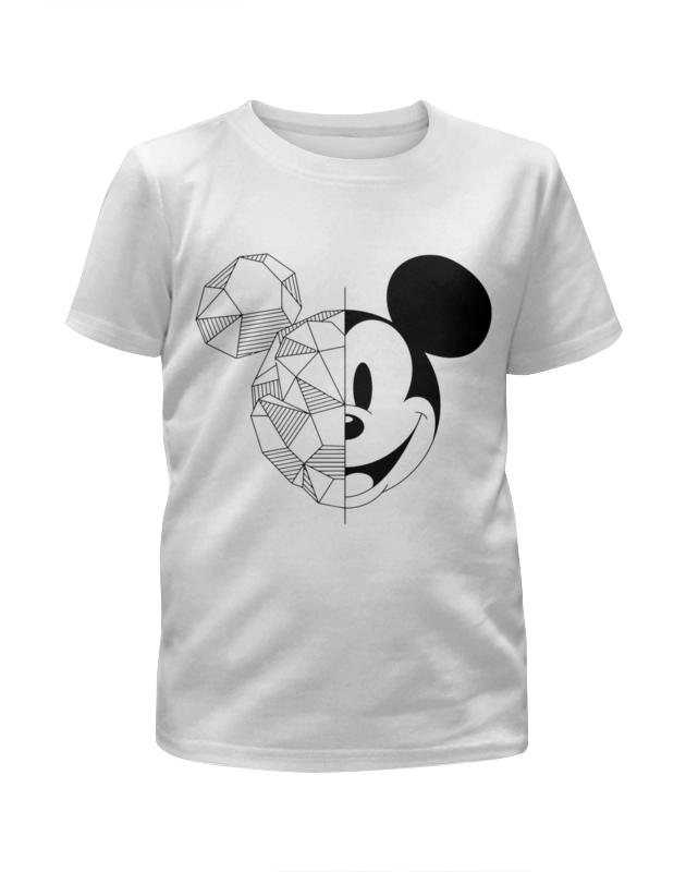 Футболка с полной запечаткой для девочек Printio Микки маус футболка с полной запечаткой для девочек printio пртигр arsb