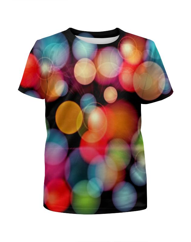Футболка с полной запечаткой для девочек Printio Солнечные блики футболка с полной запечаткой мужская printio блики